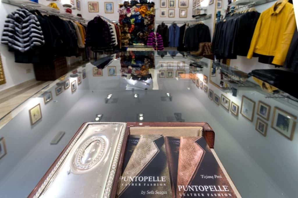 Puntopelle - leather shops in Rome