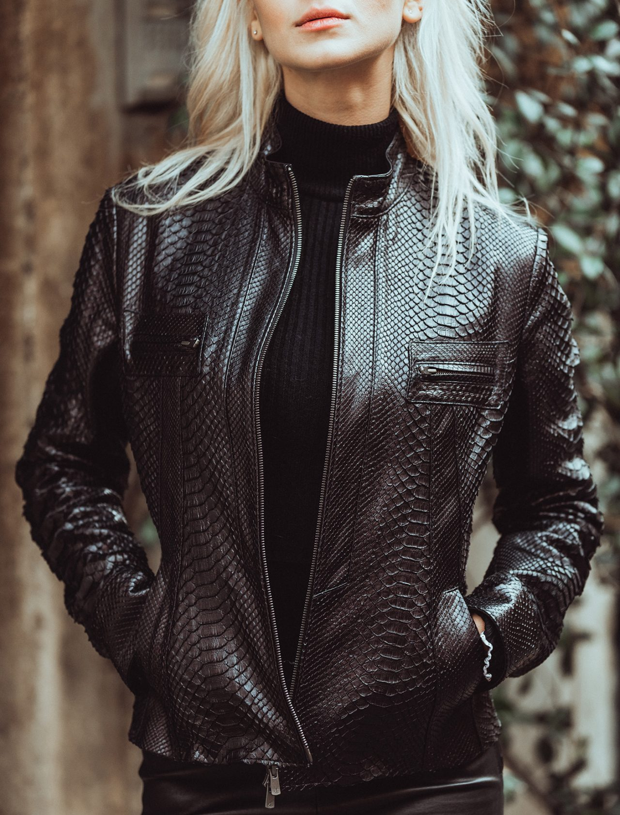 leather jackets in rome