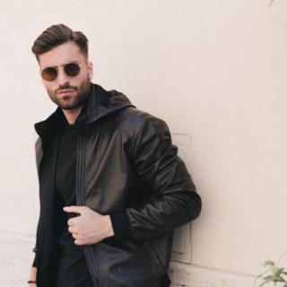 Leonardo leather jacket