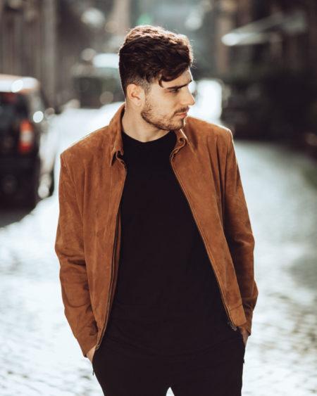 Luca bomber jacket
