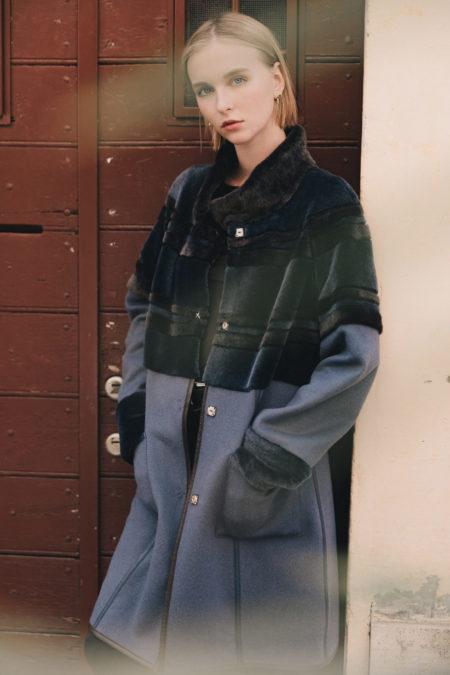Zaffiro shearling coat