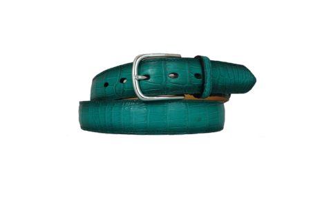 Alligator Belt Emerald