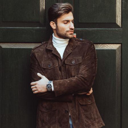 Reporter suede jacket