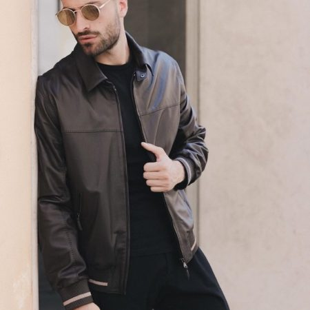 Attilio Brown jacket