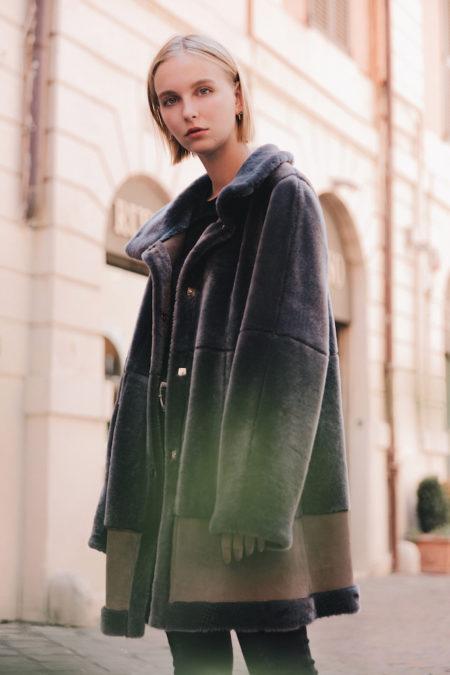 Serena Shearling coat