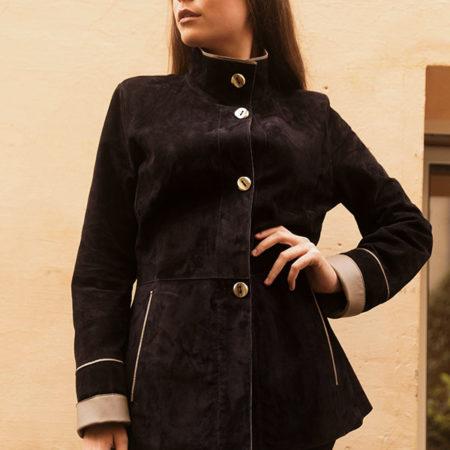 Beatrice leather jacket