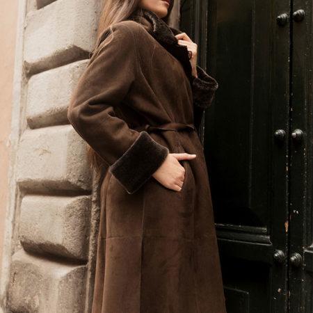 Roberta cappotto in montone