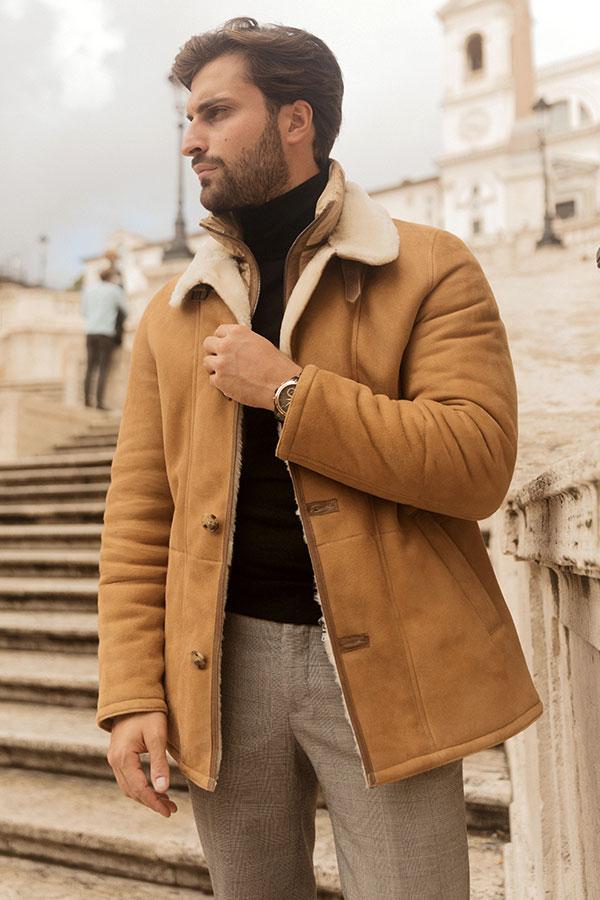 Canadian shearling jacket
