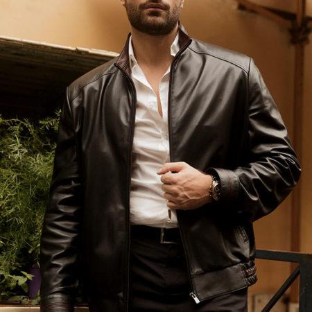 Carlos leather jacket