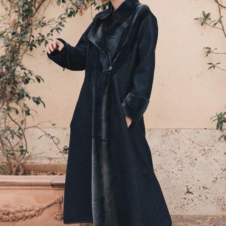 Francesca wool coat