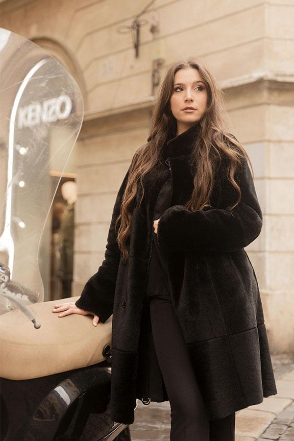 Judith shearling coat