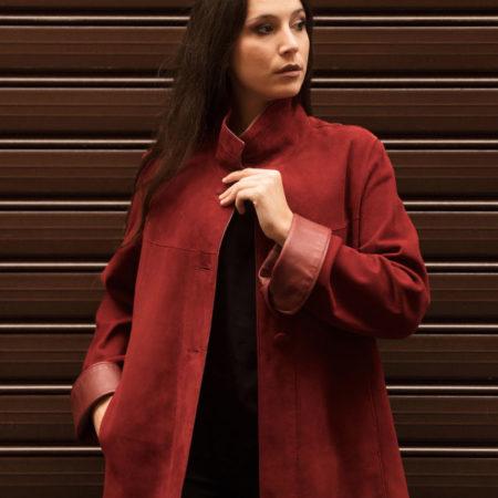 Karen leather jacket
