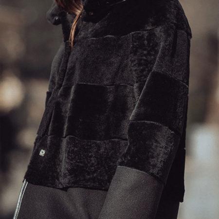 Mandy shearling coat