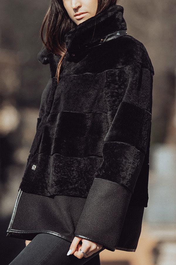 Mandy giacca montone