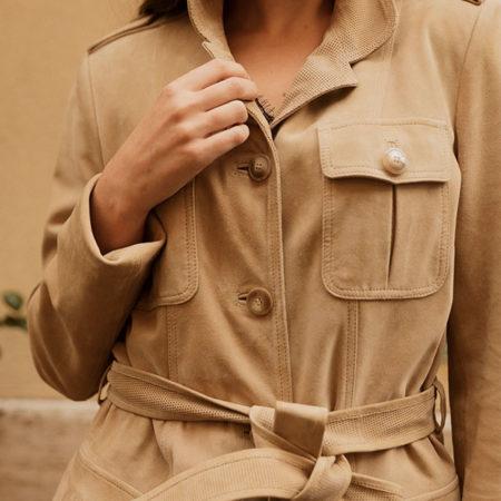 Savana suede coat