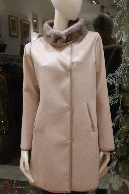 Alice wool & cashmere coat