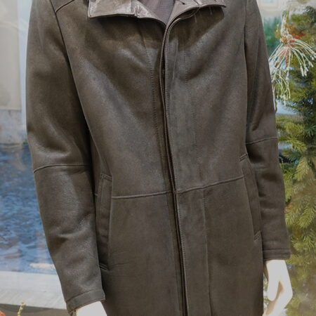 Clay shearling coat