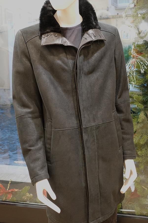 Clay shearling coat