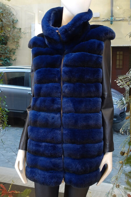 Maura Rex fur vest