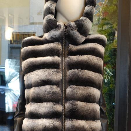 Melania Rex fur vest