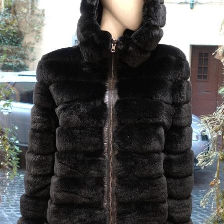 Alessia rex fur coat