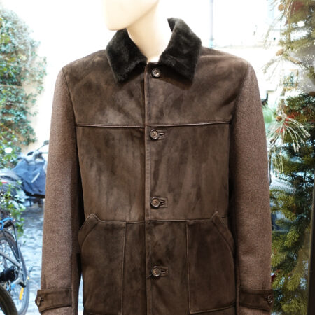 Carlo shearling mix wool