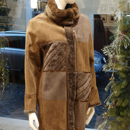 Simona shearling coat