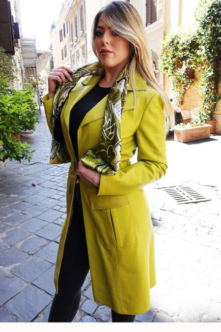 Veronica Leather coat